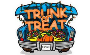 Trunk or Treat! Oct. 26th!!